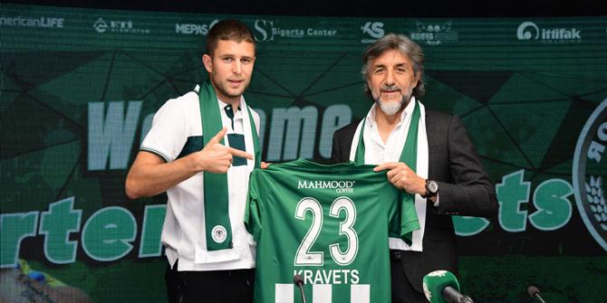 Konyaspor'da Kravets ilk maçında golünü attı