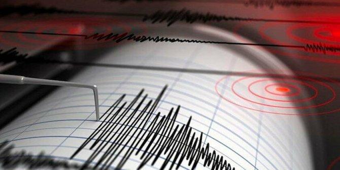 Ege açıklarında 5 büyüklüğünde deprem