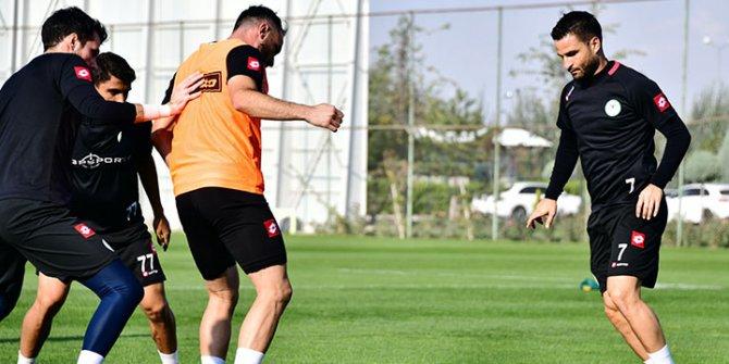 Konyaspor, Beşiktaş maçına iki eksikle hazırlanıyor