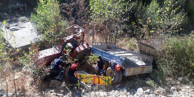 Traktörün altında sıkışan 11 yaşındaki Kevser hayatını kaybetti