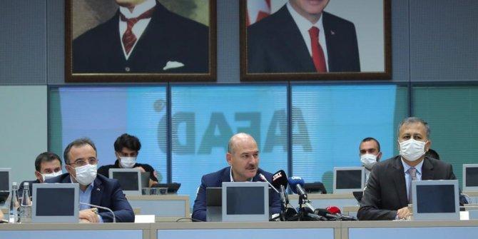 Bakan Soylu'dan İstanbul'da 7.5'lik deprem tatbikatı açıklaması