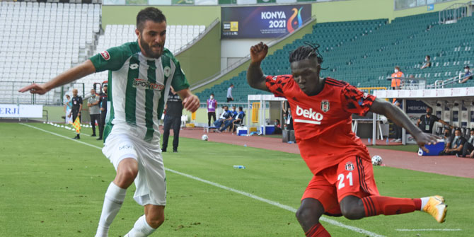 Konyaspor'da sezonun ilk golü Shengelia'dan