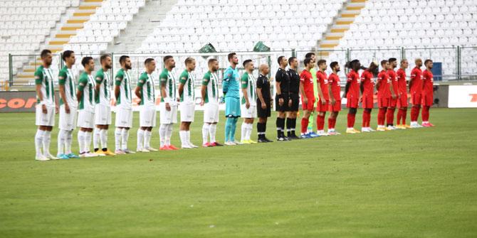 Konyaspor'un ilk 11'inde 2 değişiklik
