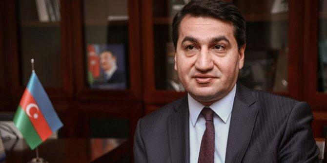 Azerbaycan Cumhurbaşkanı Yardımcısı Hacıyev: Stratejik üstünlüğü olan beldeler işgalden kurtarıldı