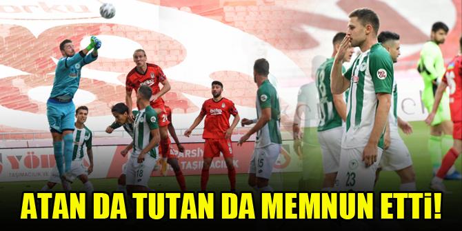 Konyaspor'da atan da tutan da memnun etti!