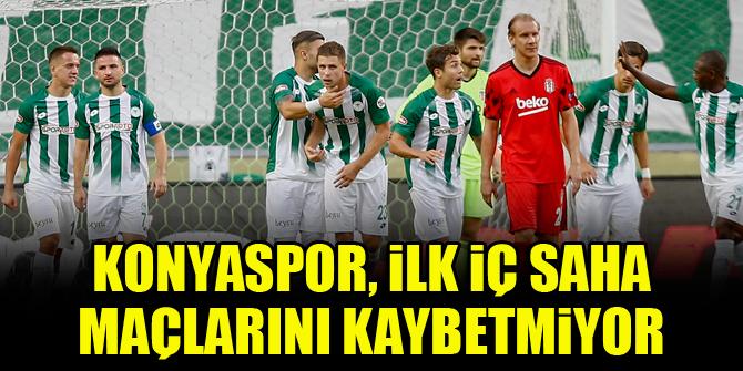 Konyaspor, ilk iç saha maçlarını kaybetmiyor