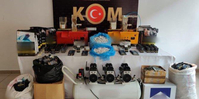 Konya'da kaçakçılık operasyonlarında 9 kişi yakalandı