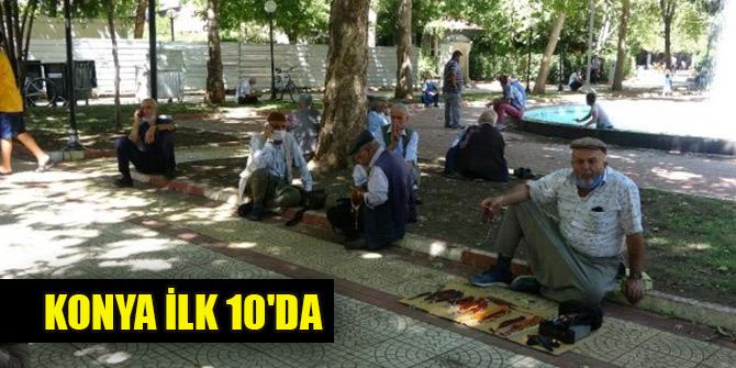 Yaşlı nüfusun en fazla olduğu iller... Konya ilk 10'da