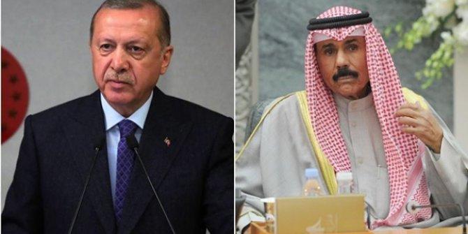 Cumhurbaşkanı Erdoğan, yeni Kuveyt Emiri ile telefonda görüştü