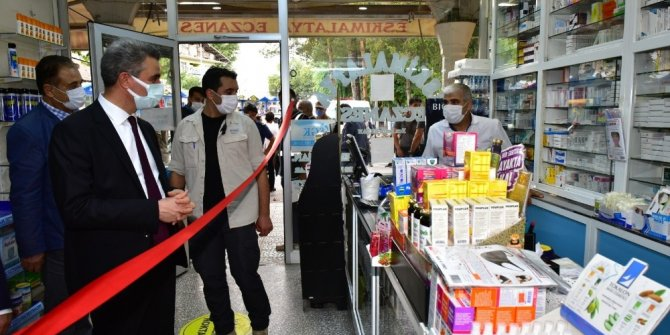 Malatya'da korona virüs denetimleri sürüyor