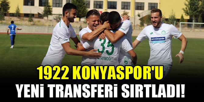 1922 Konyaspor'u yeni transferi sırtladı!
