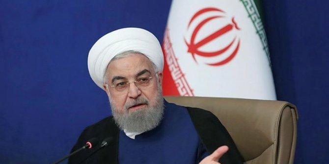 """İran Cumhurbaşkanı Ruhani: """"Ekonomik savaş daha fazla süremez"""""""