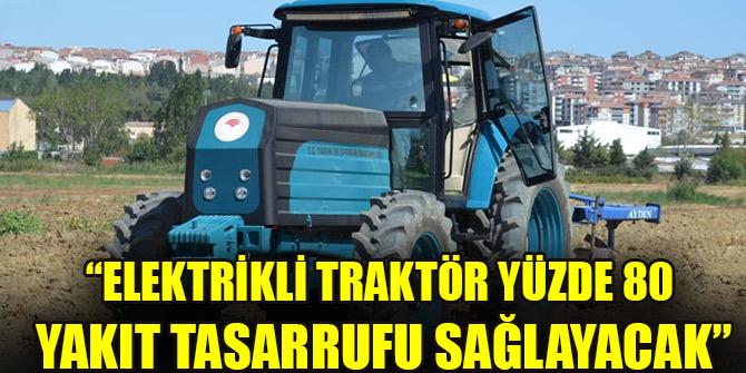 """Bakan Pakdemirli'den """"Akıllı Tarım"""" açıklaması: Elektrikli traktör yüzde 80 yakıt tasarrufu sağlayacak"""