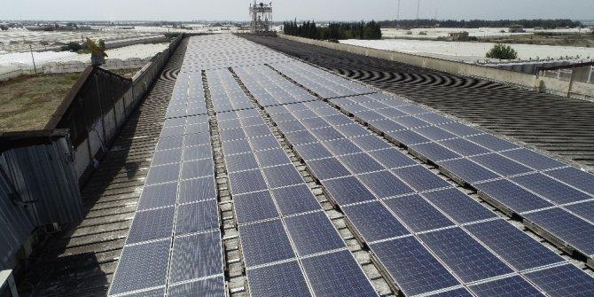 Enerjisini güneşten alan dev fabrika, yıllık 500 bin TL'lik tasarruf sağlıyor