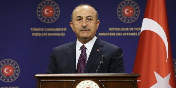 Dışişleri Bakanı Çavuşoğlu Azerbaycanlı mevkidaşı Bayramov ile görüştü