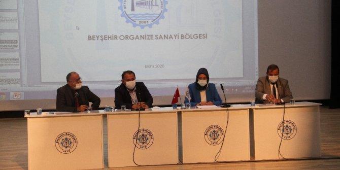Beyşehir Organize Sanayi Bölgesi istişare toplantısı yapıldı