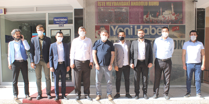 TÜRSAB'dan Yeni Haber'e ziyaret