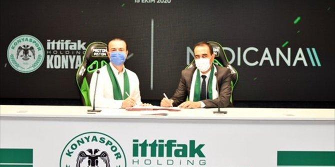 Konyaspor'dan sponsorluk anlaşması! 1 yıl daha