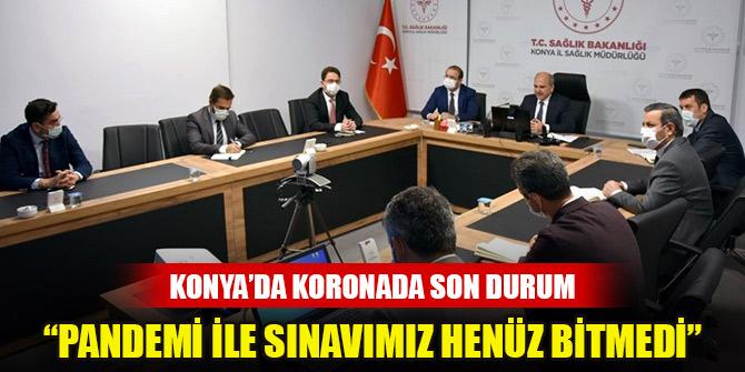 """Prof. Dr. Koç: """"Pandemi ile sınavımız henüz bitmedi"""""""