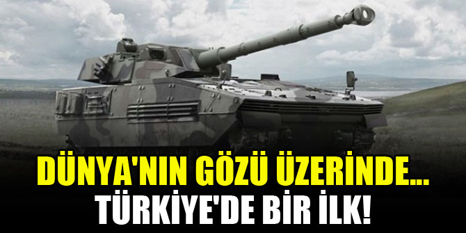 Dünya'nın gözü üzerinde... Türkiye'de bir ilk!