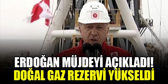 Cumhurbaşkanı Erdoğan, yeni doğal gaz rezervini açıkladı