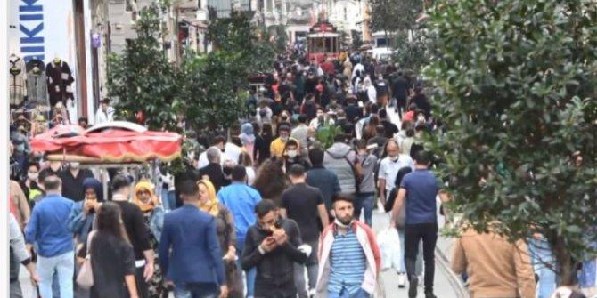 Taksim'de skandal görüntüler
