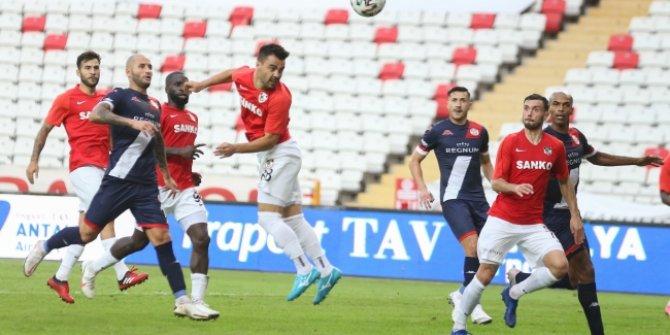 Antalyaspor - Gaziantep FK maçında 2 gol, 4 kırmızı kart