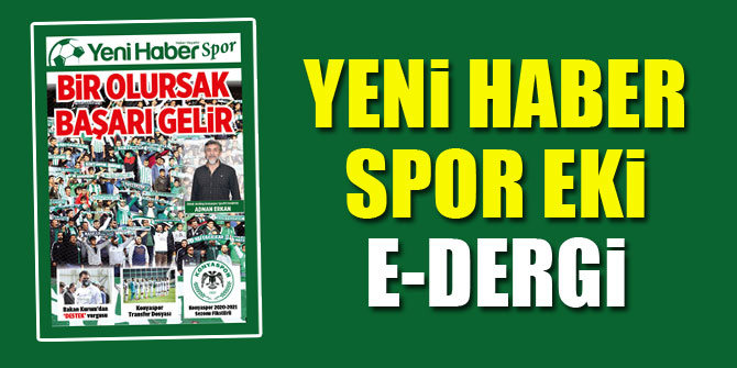 Yeni Haber Spor Eki   E Dergi