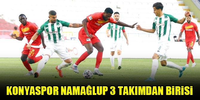 Konyaspor, namağlup 3 takımdan birisi