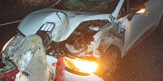 Feci trafik kazası: 2 ölü