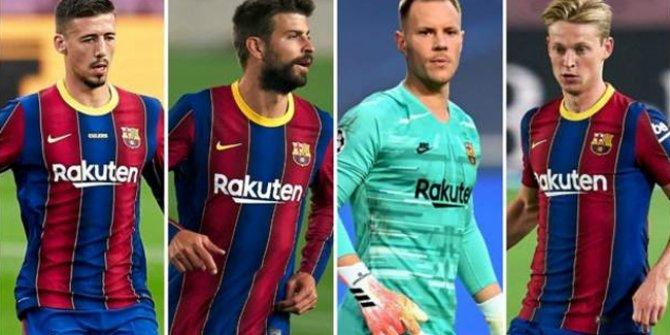 Barcelona'da 4 futbolcuya yeni sözleşme