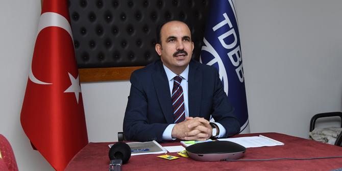 Türk Dünyası Belediyeler Birliği yönetim kurulu video konferansla toplandı