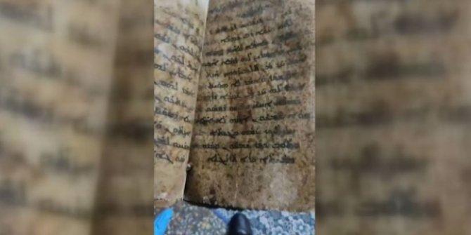 1 milyon dolarlık tarihi İncil ele geçirildi