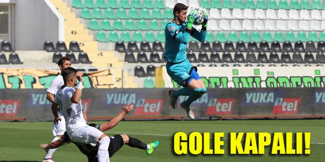 Konyaspor'un kalesi gole kapalı!