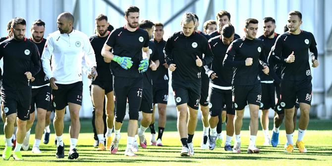 Konyaspor'da Gaziantep FK hazırlıkları tamamlandı