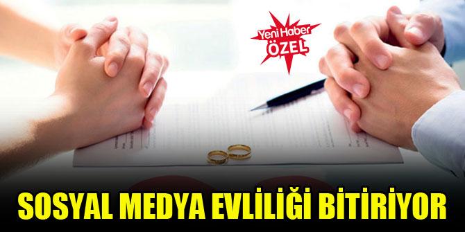 Sosyal medya evliliği bitiriyor