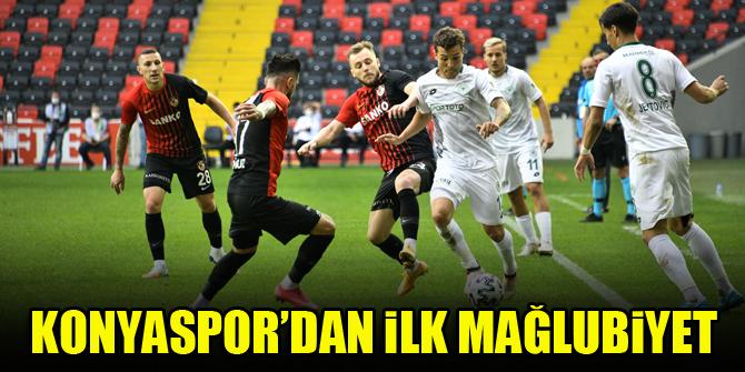 Konyaspor'dan ilk mağlubiyet
