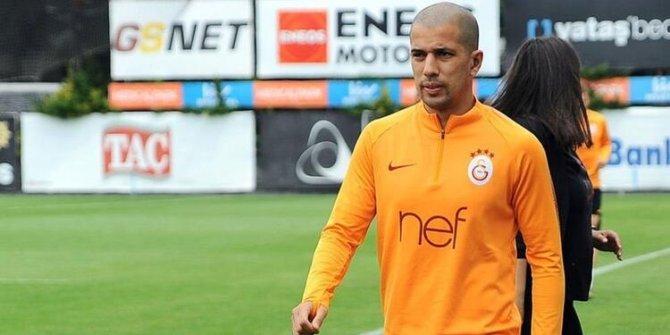 Galatasaray'da Feghouli takımla çalıştı