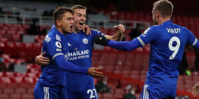 Cengiz'in asisti Leicester'a galibiyeti getirdi