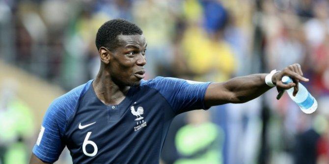 Pogba, Fransa Milli Takımı'nı bıraktığı iddialarını yalanladı