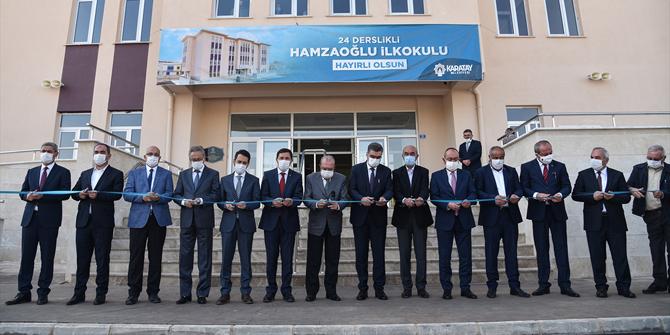 Karatay Hamzaoğlu İlkokulu, törenle hizmete açıldı