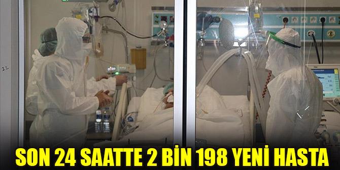 Türkiye'de son 24 saatte 2198 kişiye Kovid-19 tanısı konuldu, 75 kişi hayatını kaybetti
