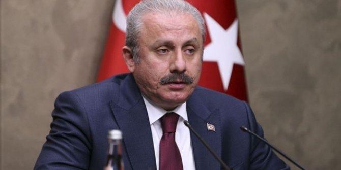 TBMM Başkanı Şentop: Türkiye teröre ve yandaşlarına asla geçit vermeyecek