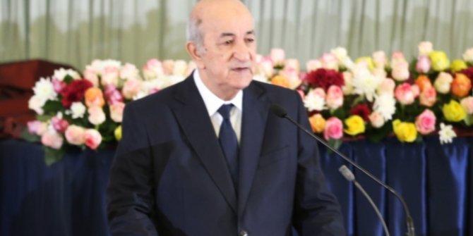 Cezayir Cumhurbaşkanı Tebbun koronavirüs nedeniyle tedaviye alındı