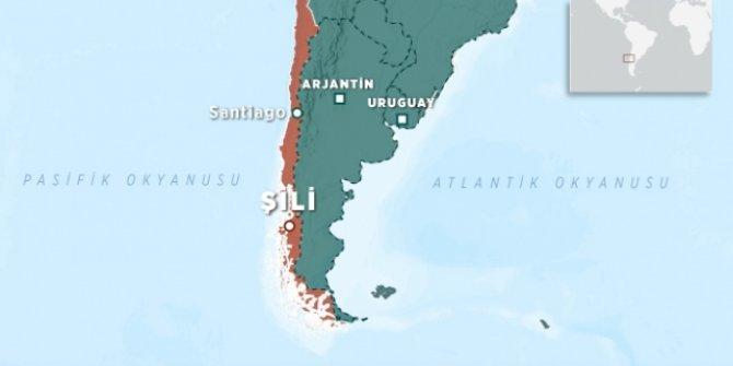 Şili'de 5.8 büyüklüğünde deprem