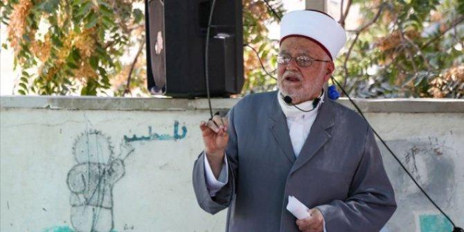 İsrail güçlerinden Mescid-i Aksa İmam Hatibi Şeyh Sabri'ye tehdit