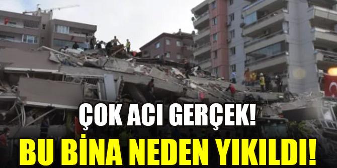 İzmir depremi çarpıcı gerçeği ortaya koydu: Beton ve demir kalitesiz, zemin zayıf
