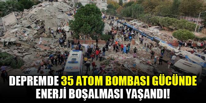 Uzmanı açıkladı: Depremde 35 atom bombası gücünde enerji boşalması yaşandı