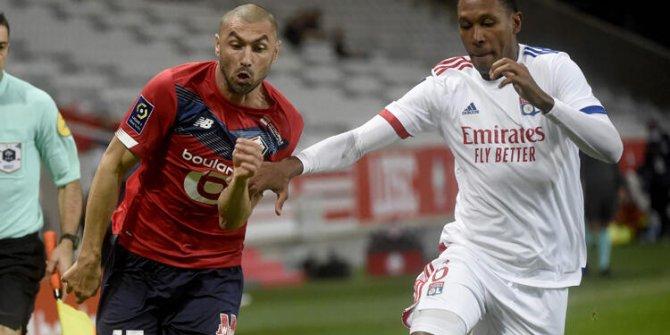 Lille, Lyon ile berabere kaldı