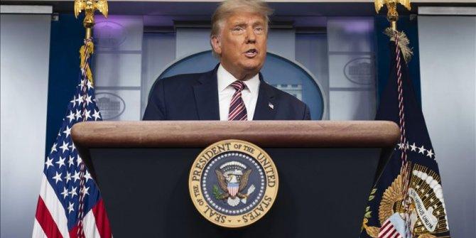 """Trump: """"Milletimiz için savaşmaktan asla vazgeçmeyeceğim"""""""
